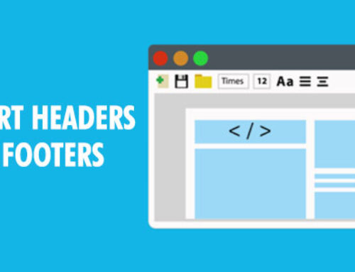 Insert Headers and Footers pour WordPress