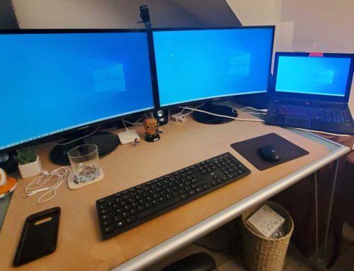 Ma configuration hybride : entre travail et loisir